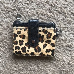 Accessories - Animal print card case